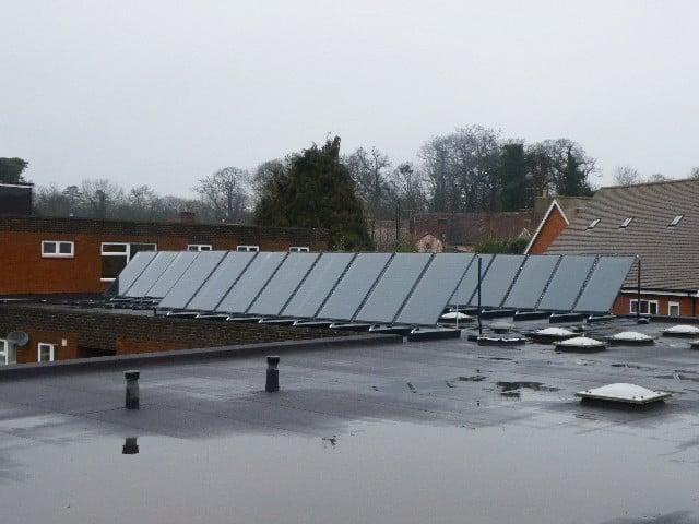 British Gas - Solar Water Heating