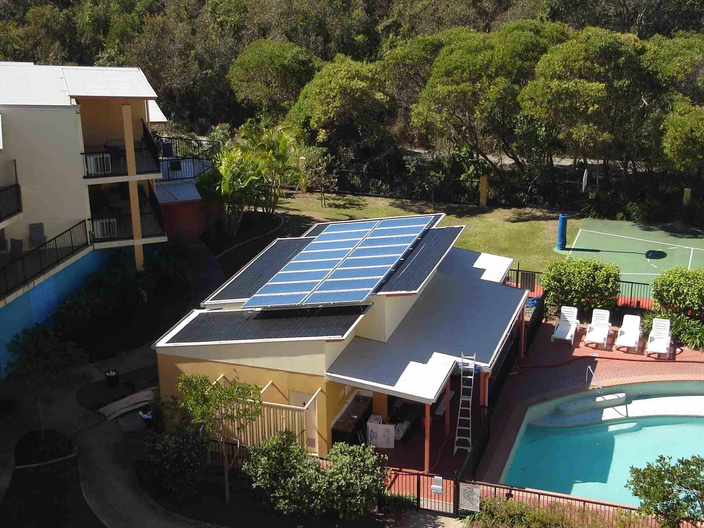 Solar Swimming Pool Heating