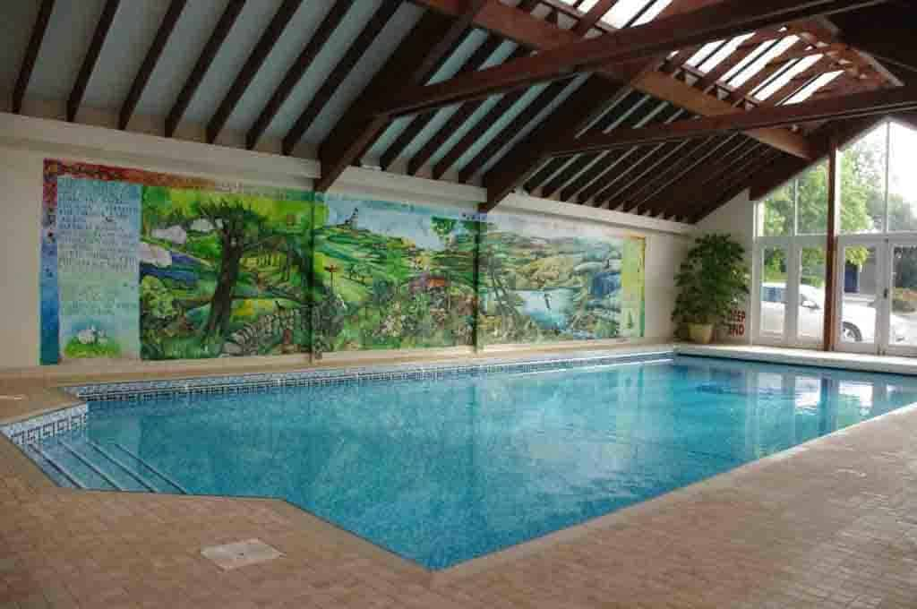 Celtic Renewable Energy Solar Heated Swimming Pool Devon