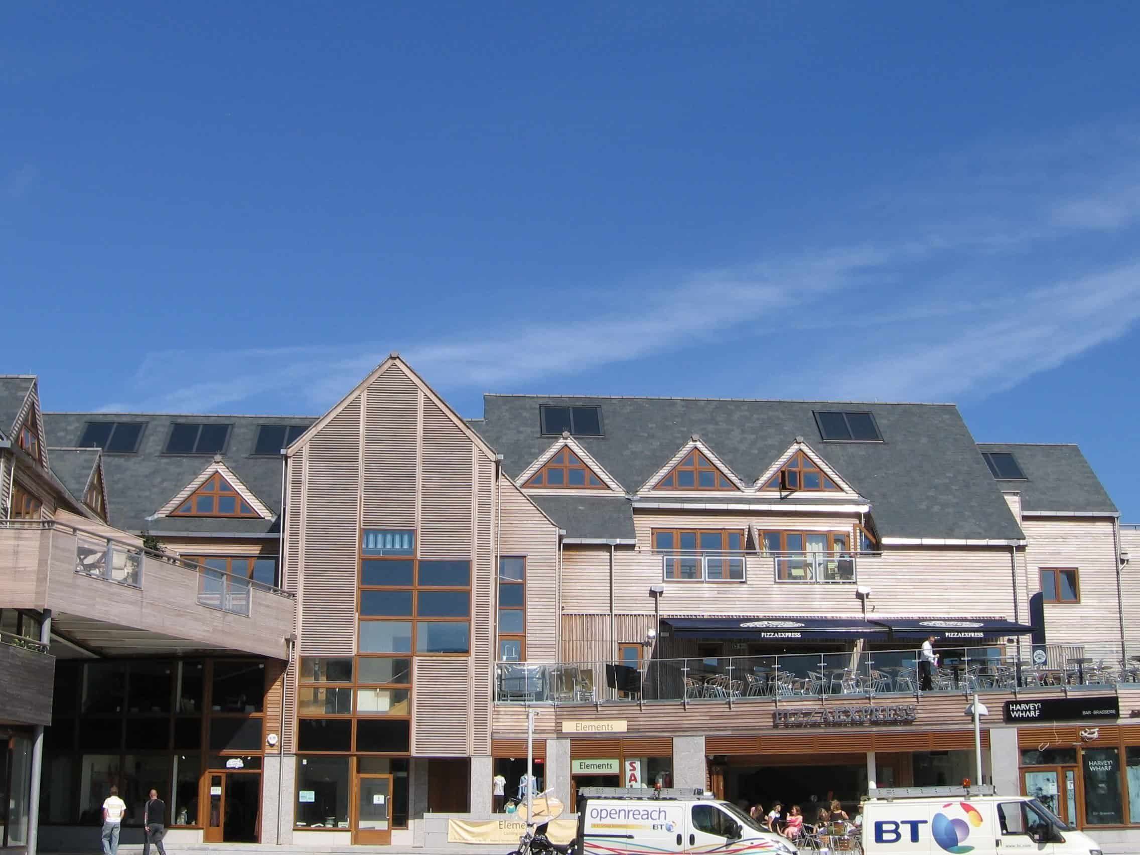 Falmouth Cornwall Solar Water Heating Apartments