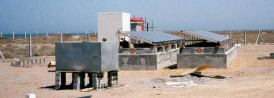 Solar Thermal Desalination, UAE